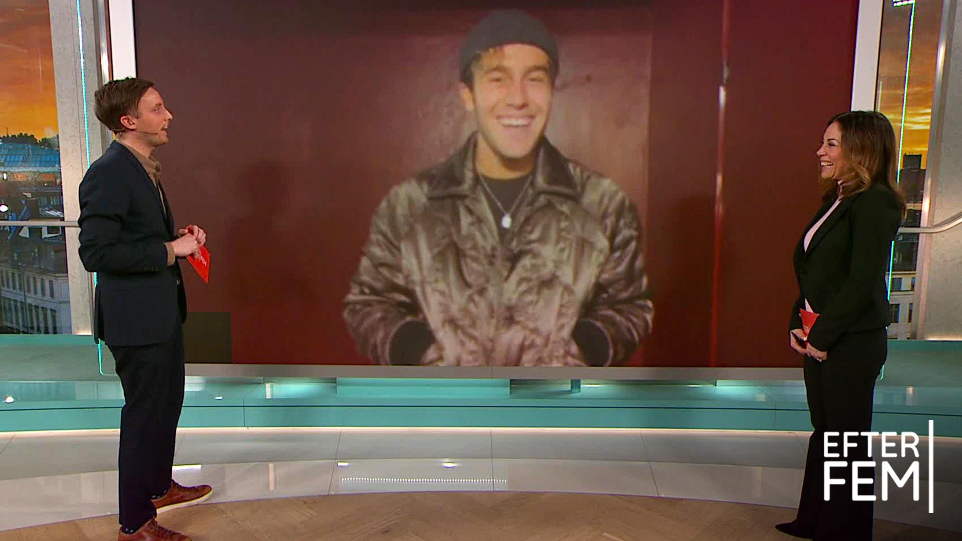 """Benjamin Ingrosso inför kvällens premiär: """"Jag är väldigt nervös"""""""