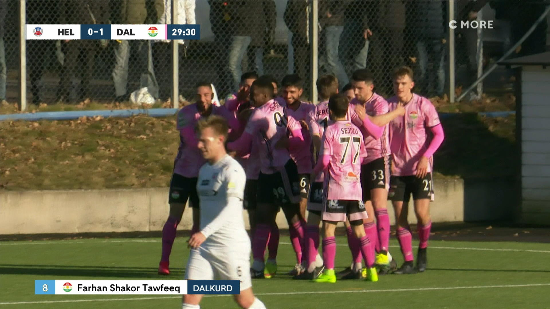 Dalkurd-yttern nickar in 1-0 mot Helsingborg
