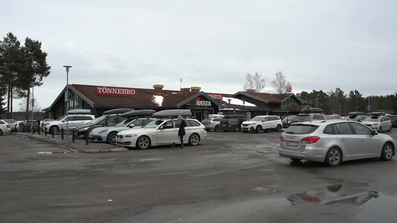 Sportlov: Parkeringen full med takboxar