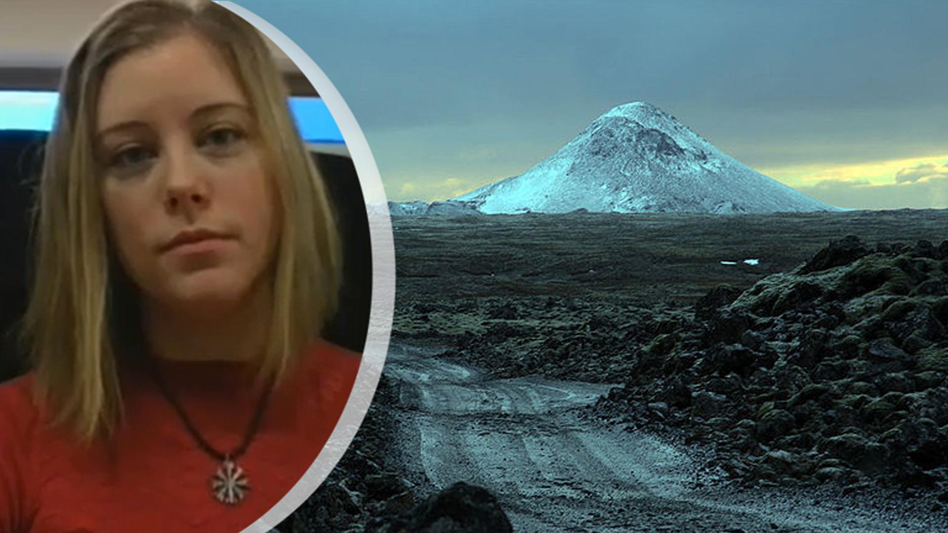 """Jannika bor nära vulkanen: """"Faran bubblar under ytan, precis som lavan"""""""