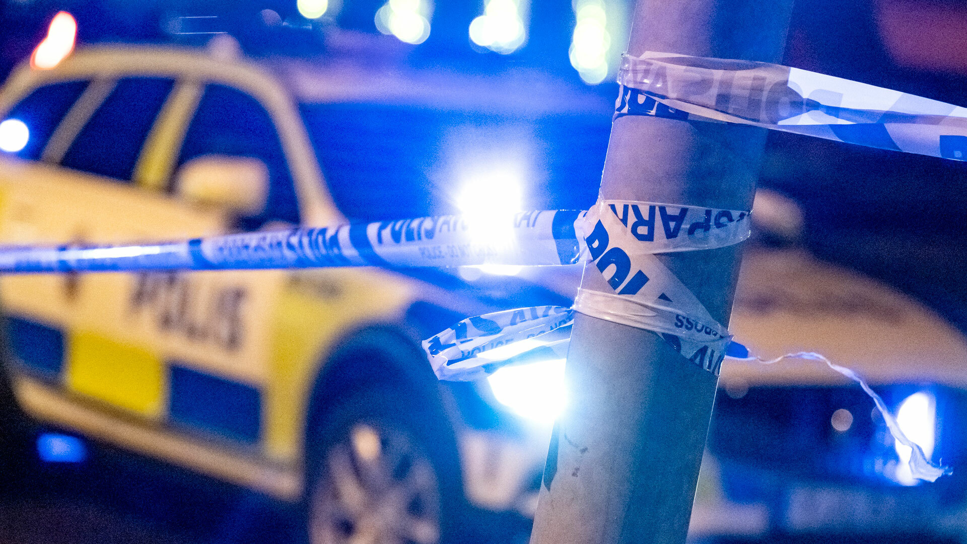 """Polisen efter dödsskjutningen i Örebro: """"Två personer anhållna"""""""