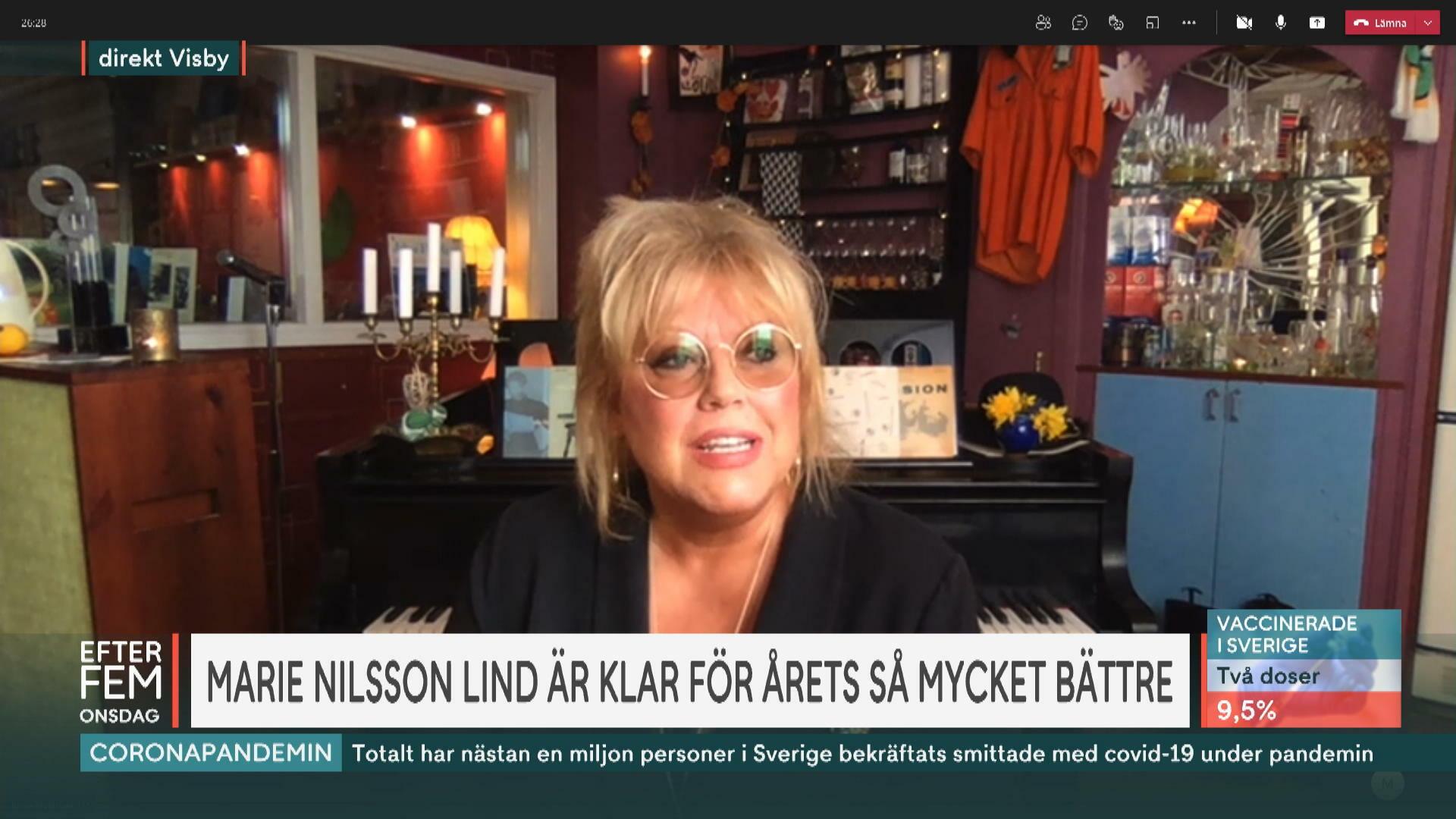 Så mycket bättre 2021 – Marie Nilsson Lind är sista deltagaren