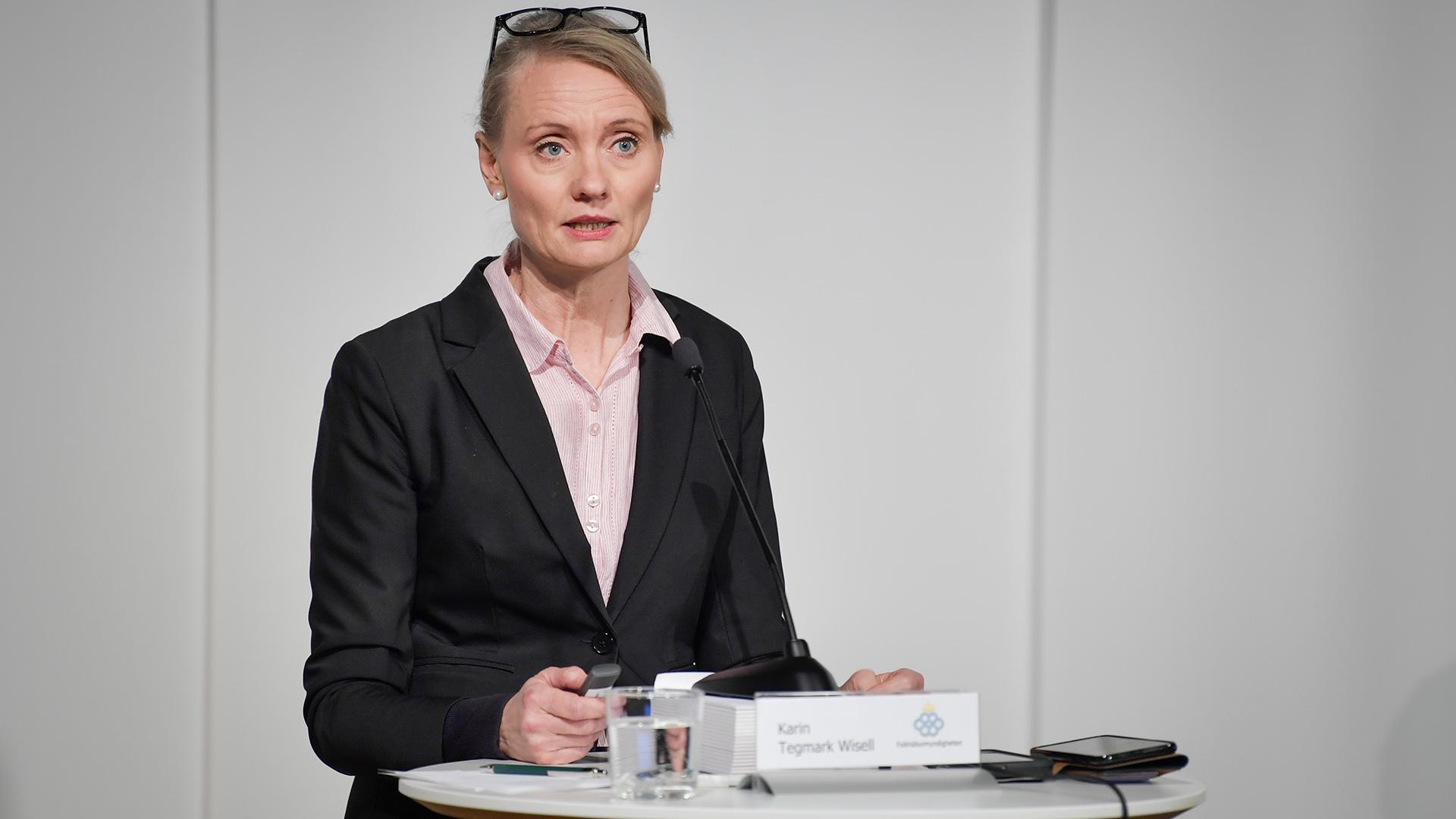FHM om covidfall i Sverige: En avtagande trend