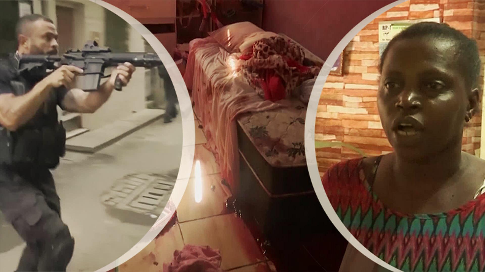 """Många döda i knarktillslag: """"Polisen dödade killen i min dotters rum"""""""