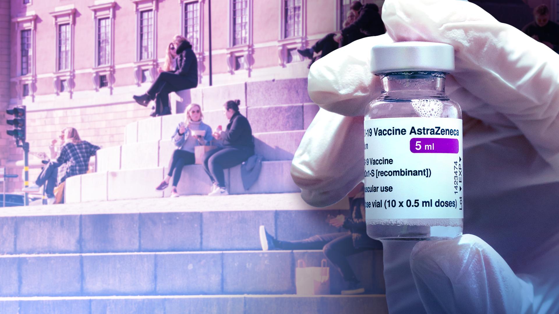 Allt fler regioner vill erbjuda Astra-vaccin till yngre