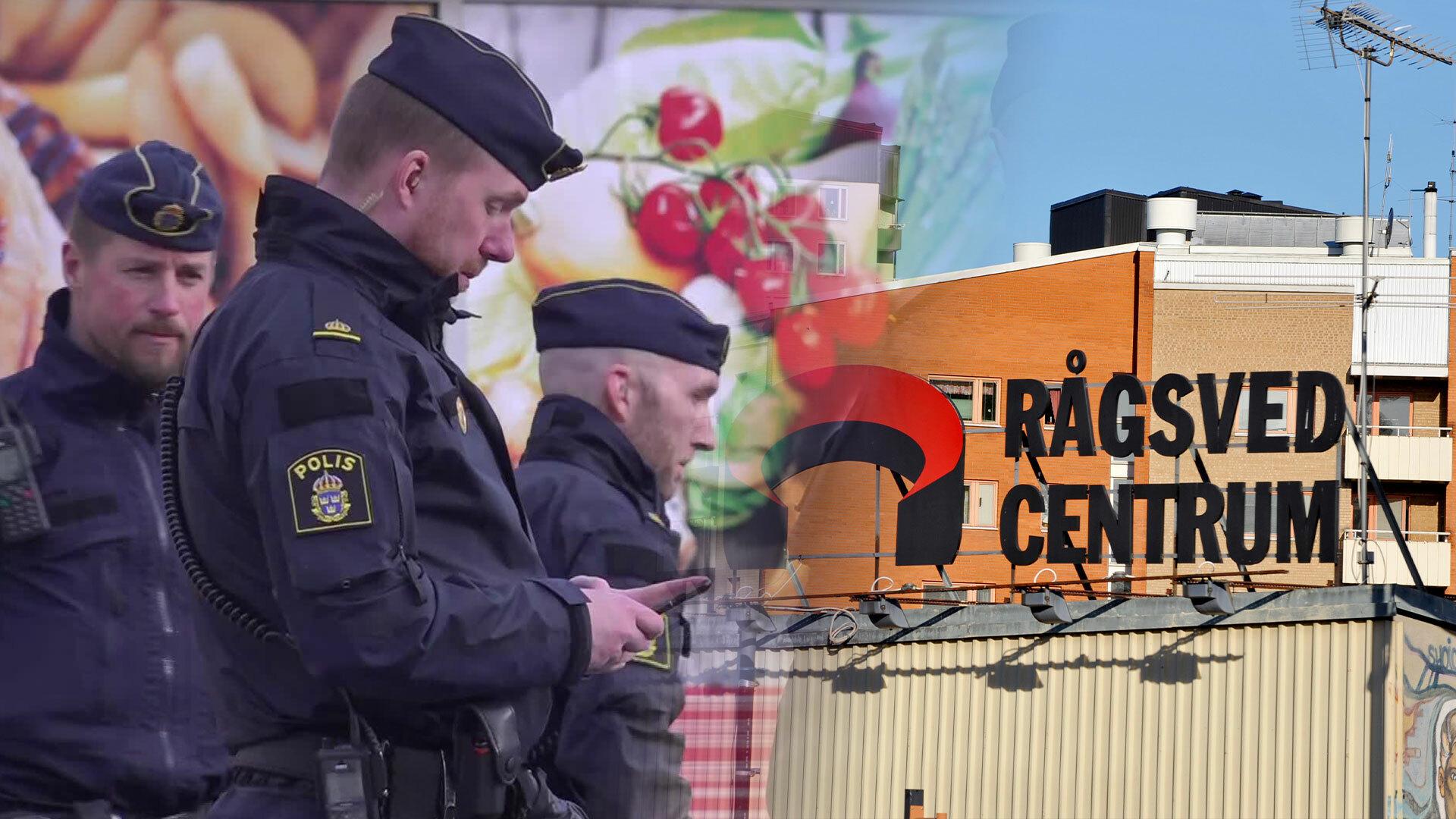 Skadad person hittad i södra Stockholm