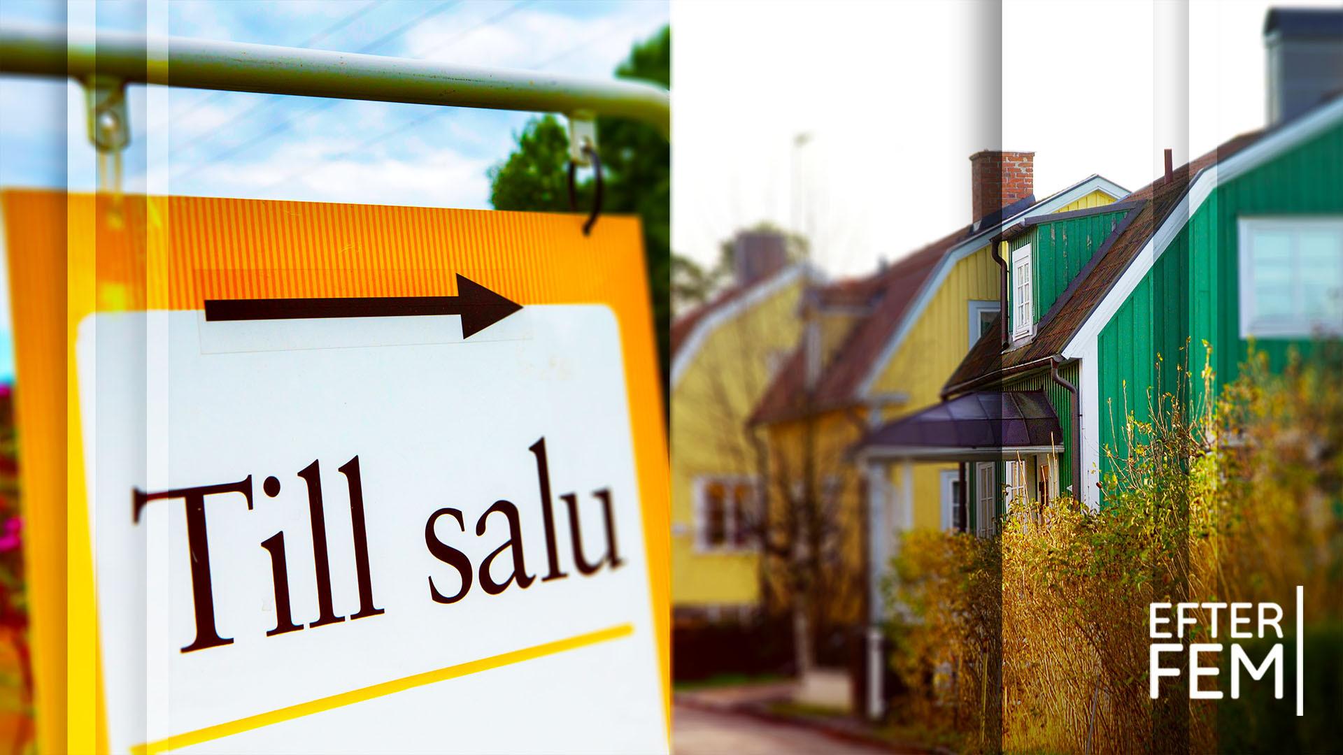 """Därför har villapriserna rekordökat: """"Raketbränsle för bostadsmarknaden"""""""