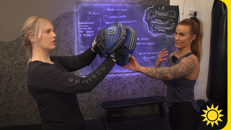 """Fler kvinnor tränar självförsvar """"Armbågen ett effektivt vapen"""""""