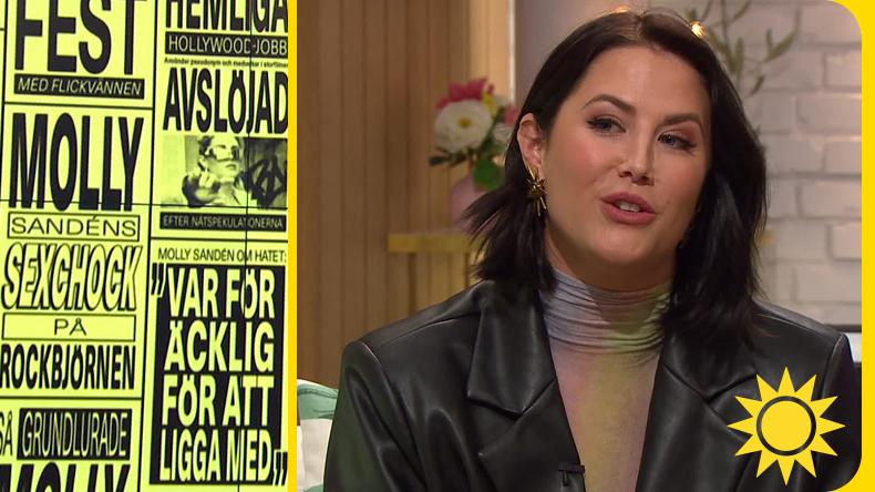 """Molly Sandén: """"Jag spelade olika roller – till slut var jag ett tomt skal"""""""