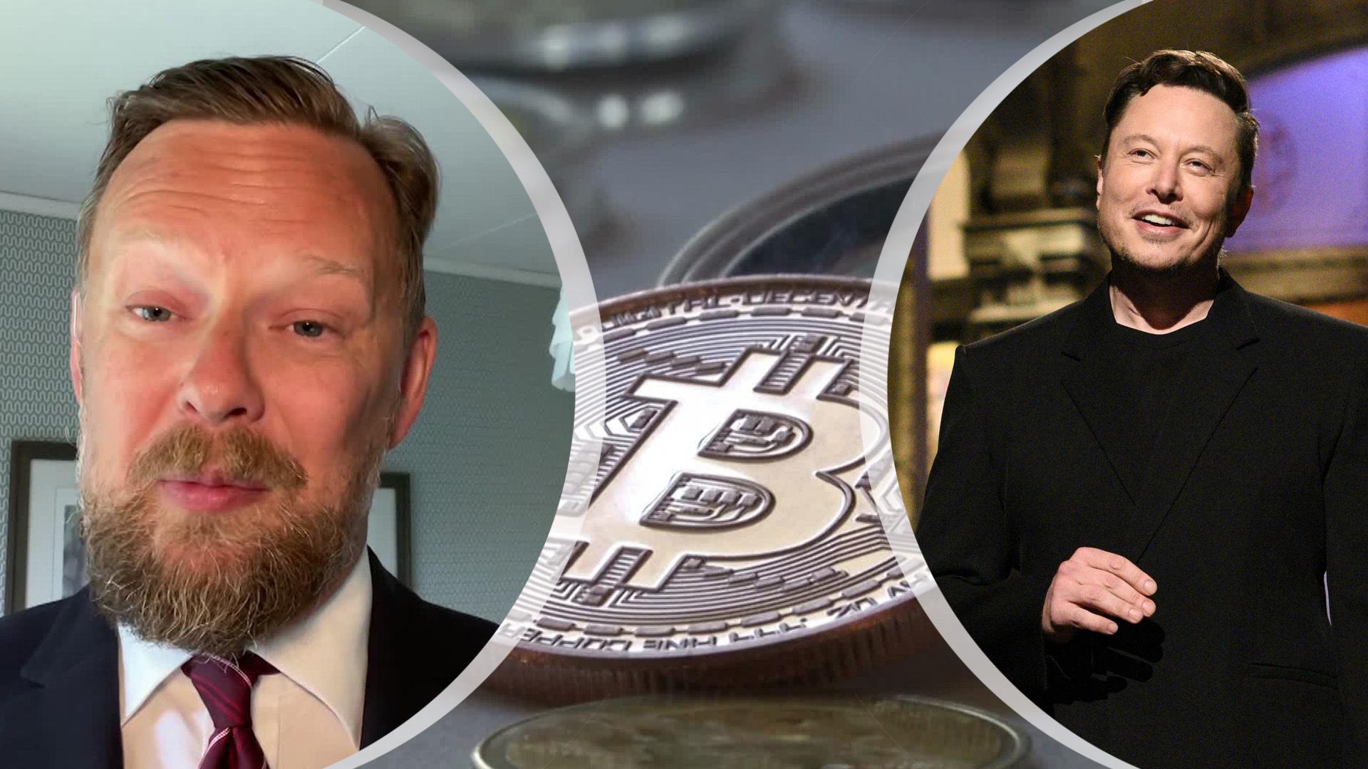 Varför påverkar Elon Musk värdet på Bitcoin? – Jens B Nordström förklarar