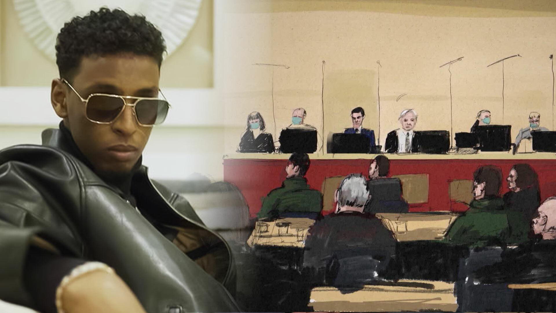 Rapartister fortsatt häktade i väntan på dom