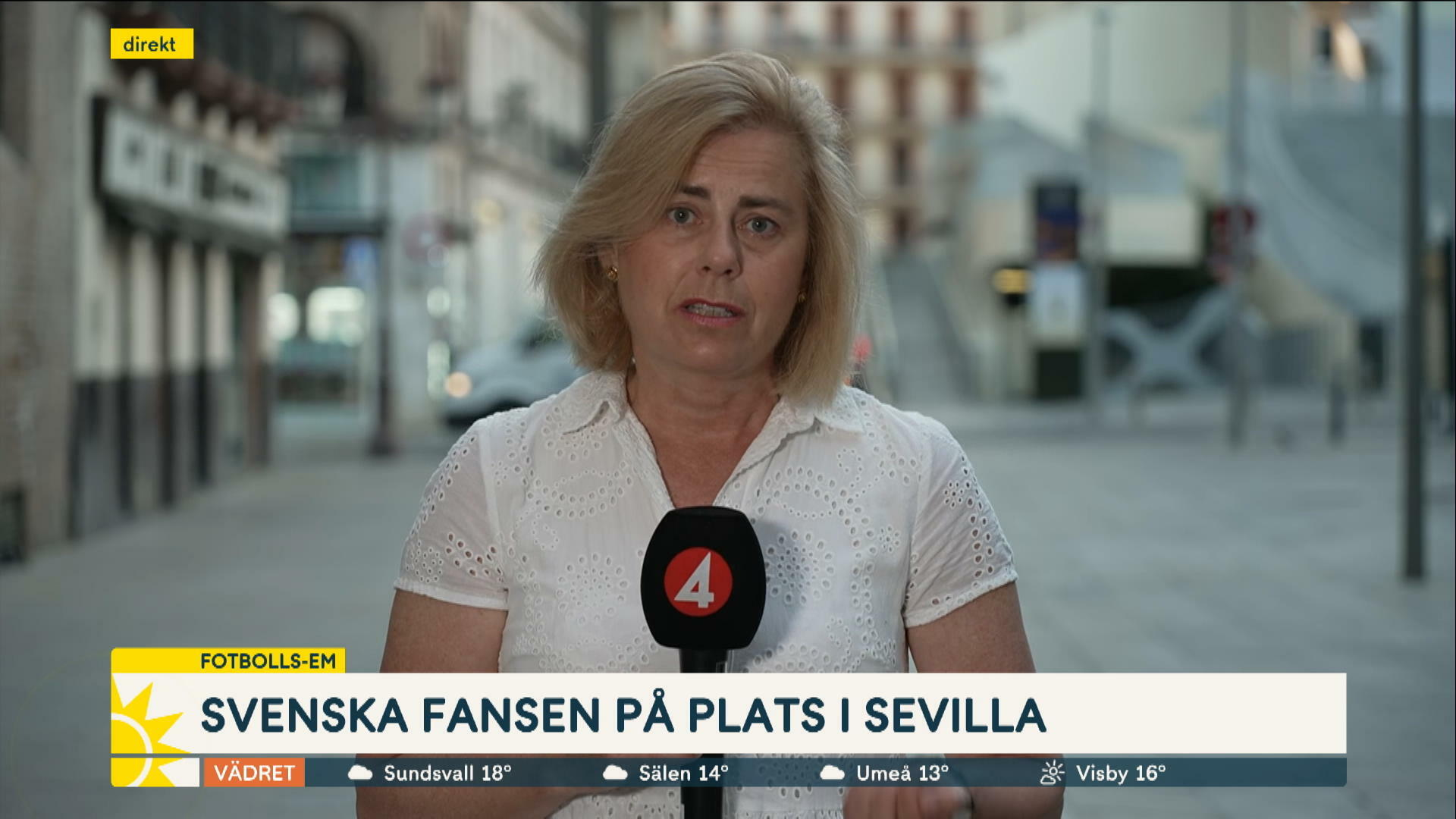 EM: Så är spanska stämningen i Sevilla inför matchen mot Sverige
