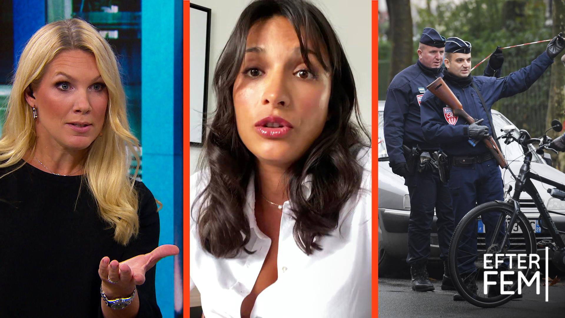 """Svenska Diana i Frankrike: """"Beväpnad polis och militär går runt och kollar alla"""""""