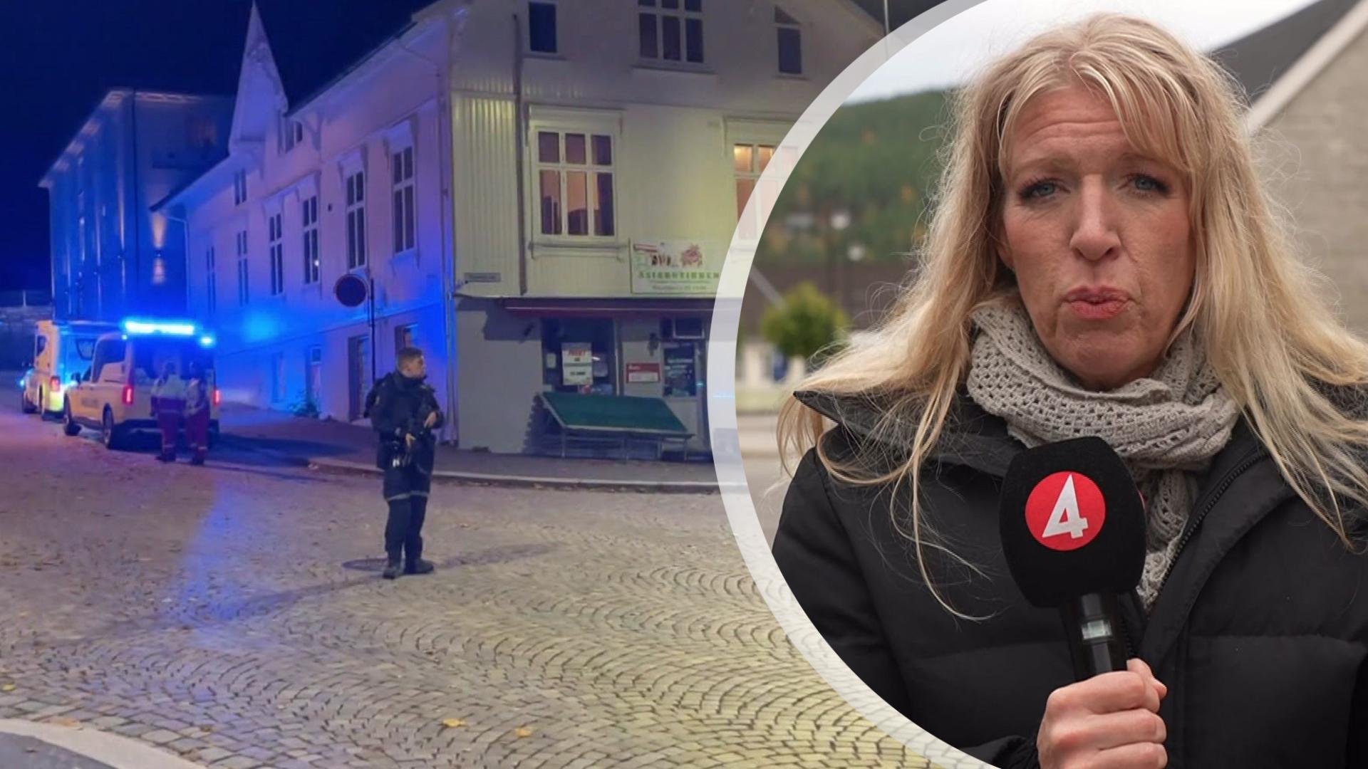 """Fem döda efter pilbågsattack i Norge: """"Polisen utesluter inte terrorbrott"""""""